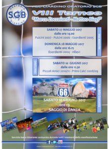 Volantino VIII Torneo SGB
